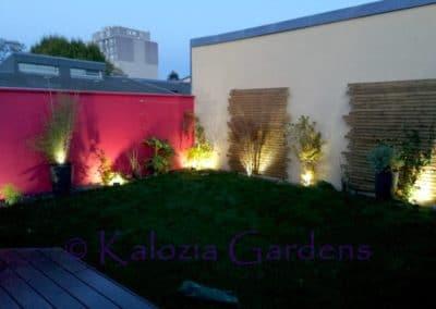 Jardin intérieur et Accès principal  Rueil